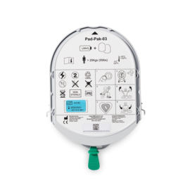 Samaritan PAD pak elektroden en batterij