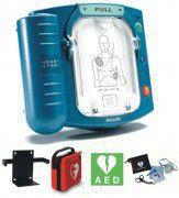 Philips AED Heartstart HS1 complete set