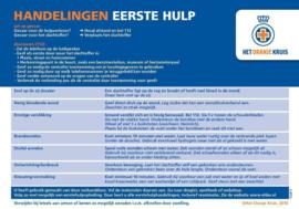 Oranje Kruis Stroomdiagram