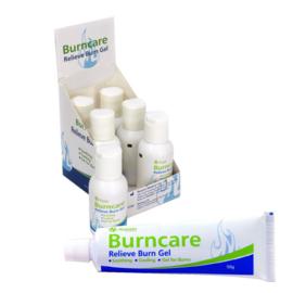 Burncare gel in tube 25 gram