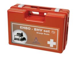 EHBO BHV verbandkoffer Oranje Kruis richtlijnen 2016 modules