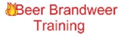 Beer Brandweer Training