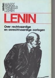 Over rechtvaardige en onrechtvaardige oorlogen - schrijver: W. I. Lenin.