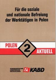 Für die soziale und nationale Befreiung der Werktätigen in Polen (Polen Aktuell 2) - schrijver: KABD.