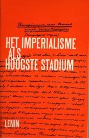 Het imperialisme als hoogste stadium - schrijver: W. I. Lenin.