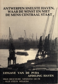 Antwerpen snelste haven, waar de winst en niet de mens centraal staat - schrijver PVDA Antwerpen.