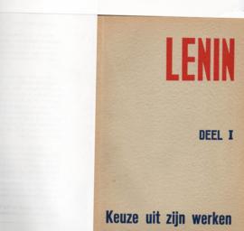 Lenin  Keuze uit zijn werken  Deel I