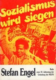 Sozialismus wird siegen - schrijver S. Engel.