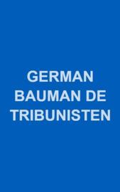 De Tribunisten, de revolutionaire marxisten van Nederland - schrijver: G.G. Bauman