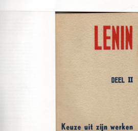 Lenin Keuze uit zijn werken  Deel II