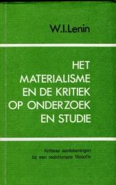 Het materialisme en de kritiek op onderzoek en studie - schrijver W.I. Lenin.