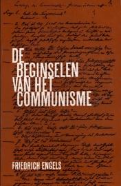 De beginselen van het communisme - schrijver:  Friedrich Engels.