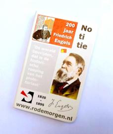 Notitieboekje 200 jaar Friedrich Engels