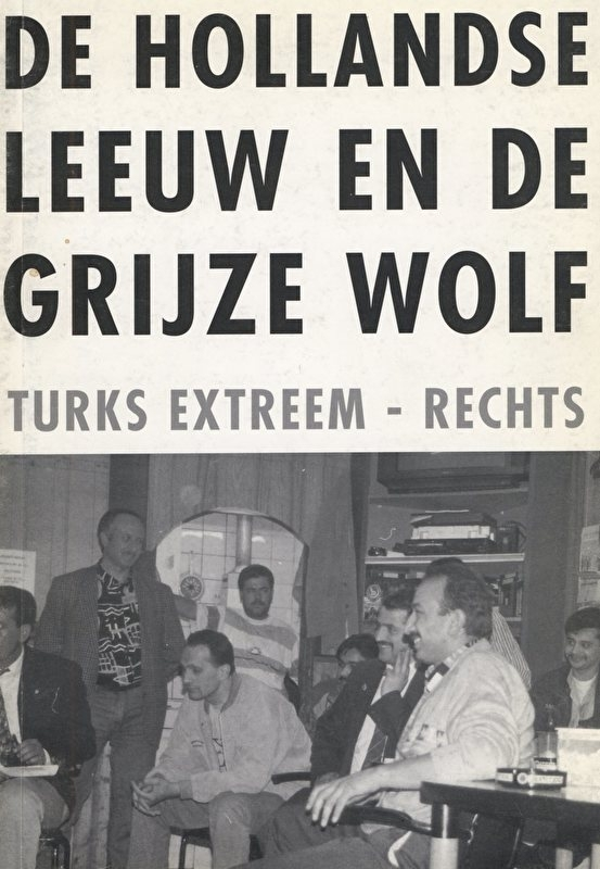 De Hollandse Leeuw en de Grijze wolf. - schrijver: Comité Stop de grijze wolven.