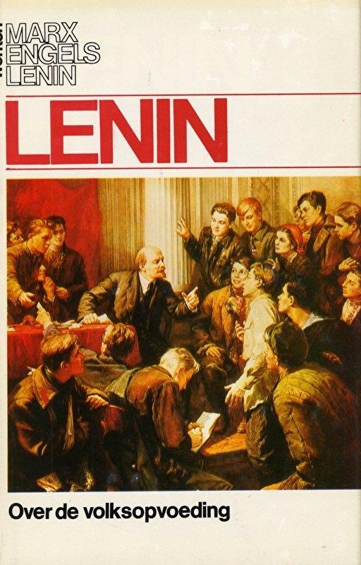 Over de volksopvoeding - schrijver: W. I. Lenin.
