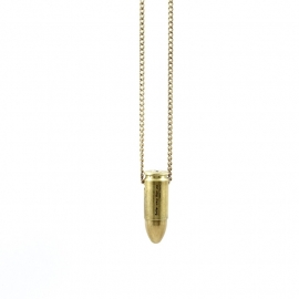 Necklace small brass