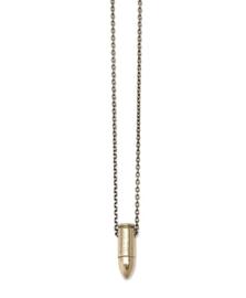 necklace mini brass
