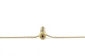 Necklace big brass