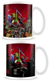 Legend of Zelda Heat Changing Mug - Battle