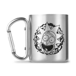 Rick and Morty Carabiner Mug