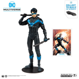 DC Rebirth Nightwing (Better Than Batman) 18 cm (Build A Action Figure)