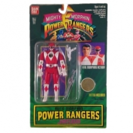 Power Rangers Auto Morphin Rood