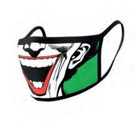 DC Comics Face Masks 2-Pack - Joker Face