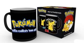 Pokemon Heat Changing Mug - Pikachu