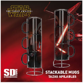 Star Wars: The Force Awakens Kylo Ren mug set