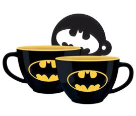 Batman Cappuccino Mug - Bat-Signal