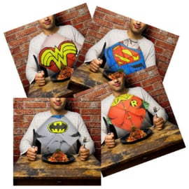 DC Comics Dress Up Napkins Slabbers