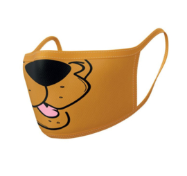 Scooby-Doo Face Masks 2-Pack - Mouth