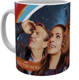 Doctor Who Mug Painting