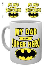 Batman Mug - My Dad is my Superhero