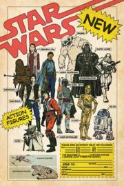 Star Wars Poster - Action Figures