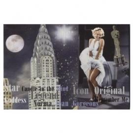 Marilyn Monroe Koelkastmagneet Witte Jurk