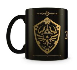 Legend of Zelda Foil Mug - Hylian Shield