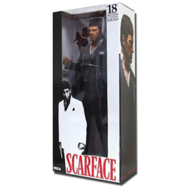 Scarface Tony Montana Grey Suit 45 cm Schaalmodel