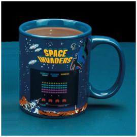 Space Invaders Warmte Verandering Mok