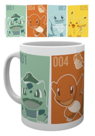 Pokemon Mug - Kanto Starters