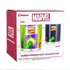 Marvel Comics Heat Change Mug - Super Powers