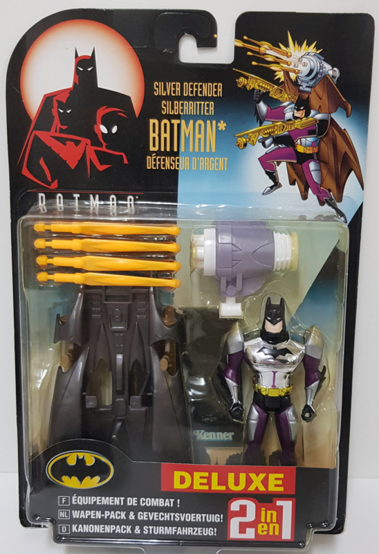 Batman Deluxe 2 in 1 - Silver Defender Batman