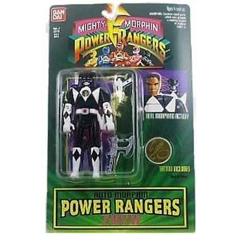 Power Rangers Auto Morphin Zwart
