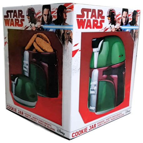 Star Wars Boba Fett Cookie Jar