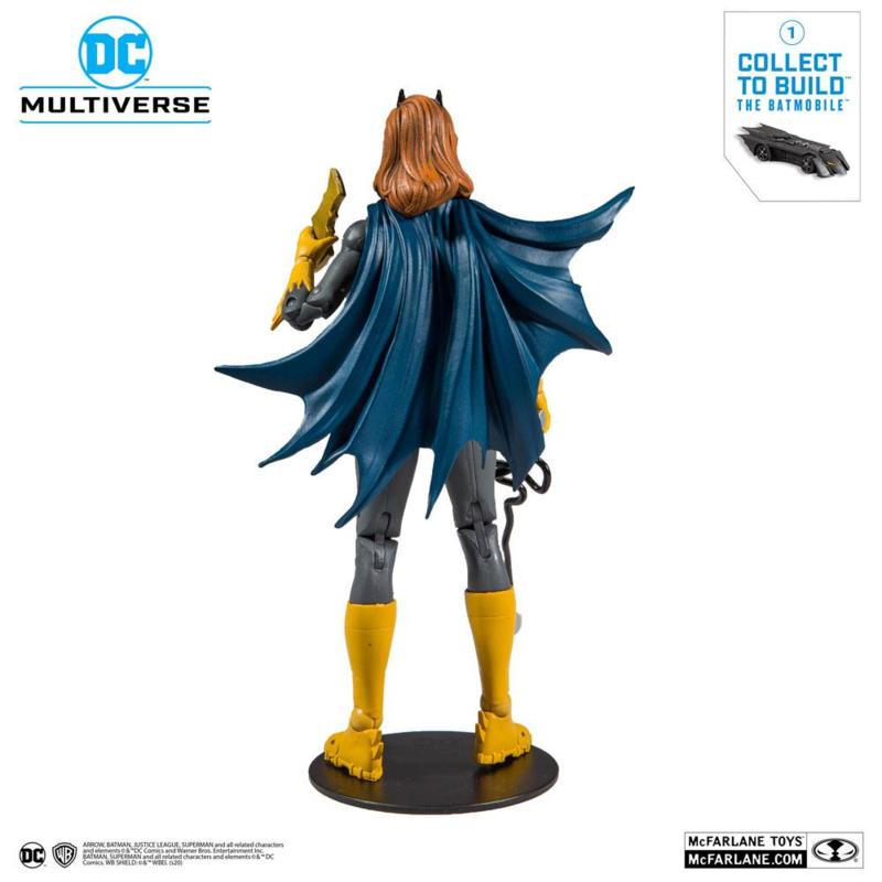 DC Rebirth Batgirl (Art of the Crime) 18 cm (Build A Action Figure)