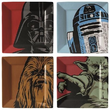 Star Wars Borden Plate Set Iconische Afbeeldingen
