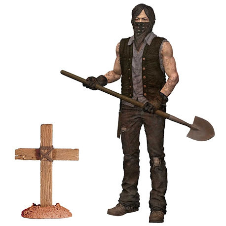 The Walking Dead Grave Digger Daryl Dixon (Dirt Version)
