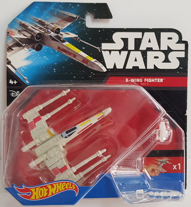 Star Wars Hot Wheels - X-Wing Fighter