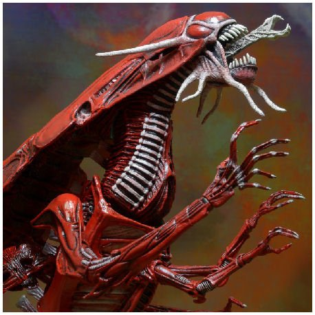 Aliens: Genocide Red Queen - Ultra Deluxe 45 cm Schaalmodel