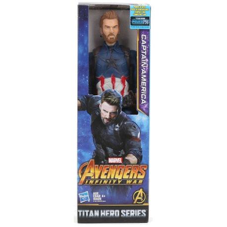 Avengers Captain America Titan Heroes